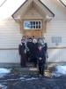 Leisi kogudus külas 20. märtsil 2011